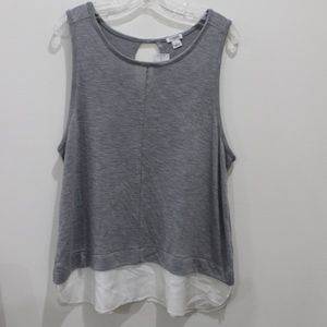 J Crew Factory sleeveless blouse